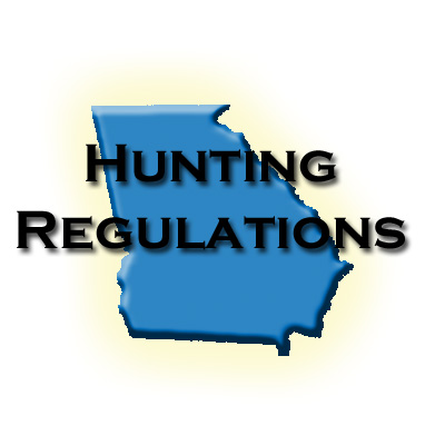 Georgia hunting regulations wma for Fishing license georgia